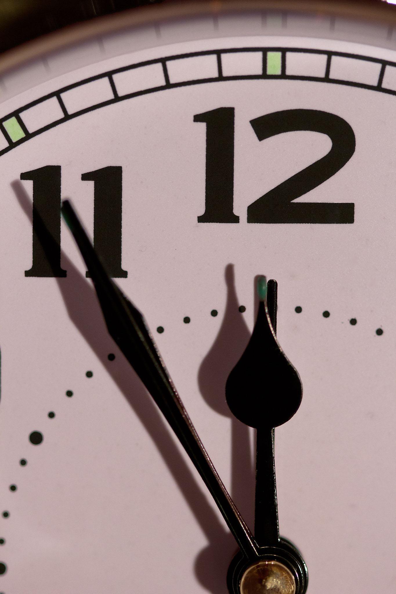 Die Zeit wird knapp